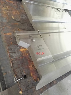 Wila type press brake punch with quick lock